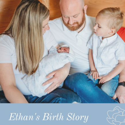 Ethan's birth story - stillborn still loved - pregnancy loss