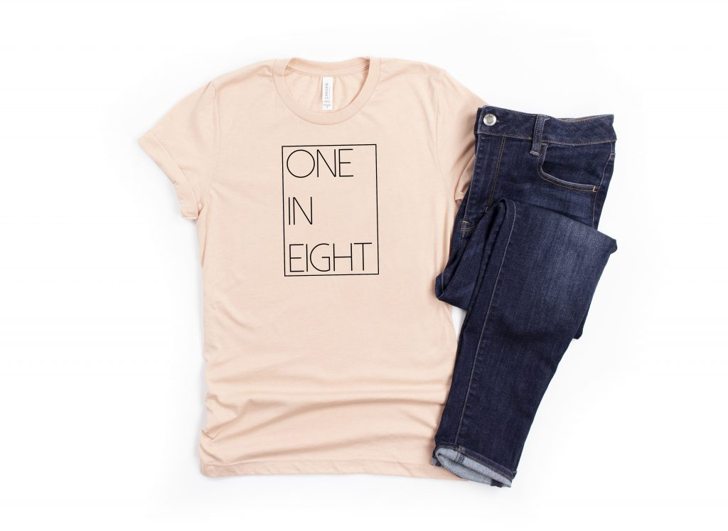 one in eight infertility shirt