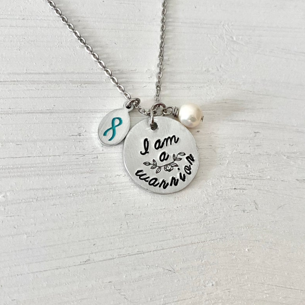 PCOS Warrior Necklace on Etsy