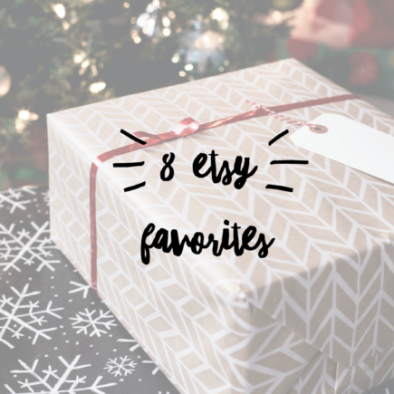 8 etsy favorites this holiday season