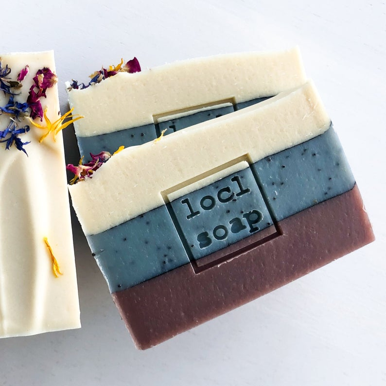 Locl Goat Milk Soap from Etsy