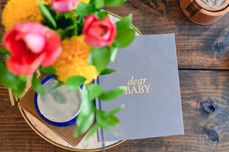 pregnancy prayer journal gifts for mom after infertility