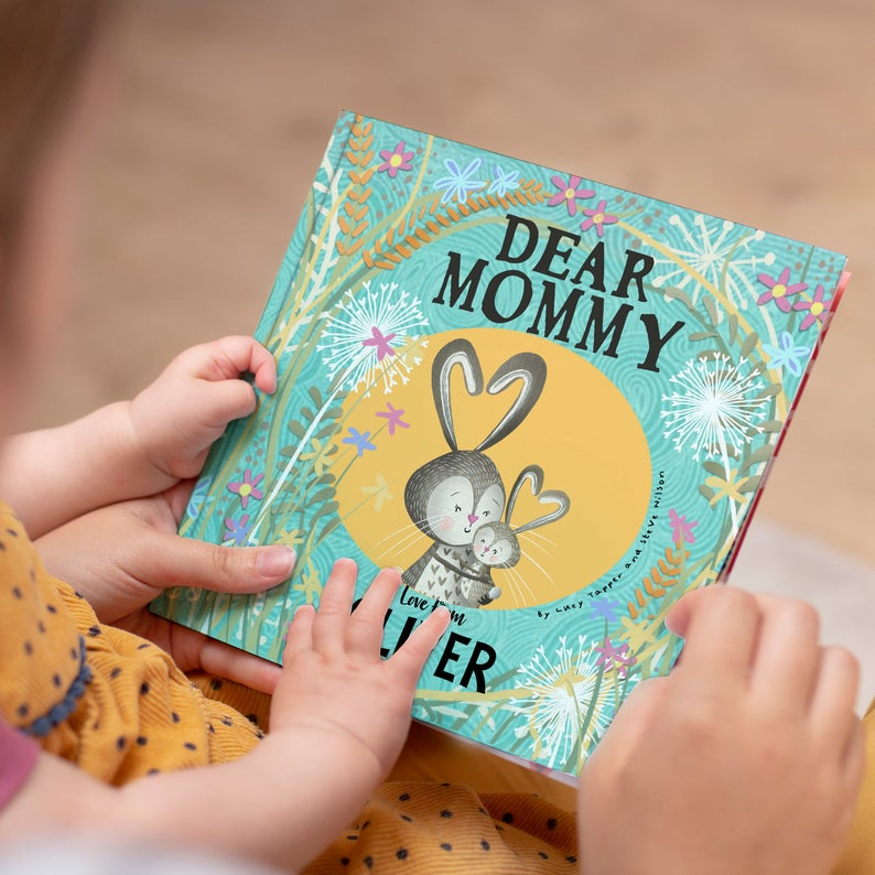 dear mommy personalized book mothers day gifts for after infertility