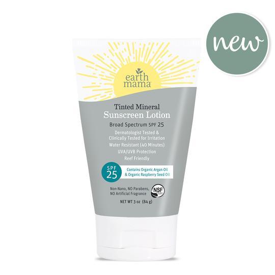 earth mama organics tinted mineral sunscreen